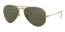RB3025 AVIATOR LARGE METAL 001/58 POLARIZED
