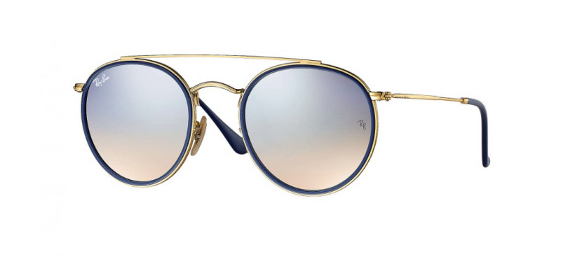 Ray-Ban ROUND DOUBLE BRIDGE RB3647N 001/9U