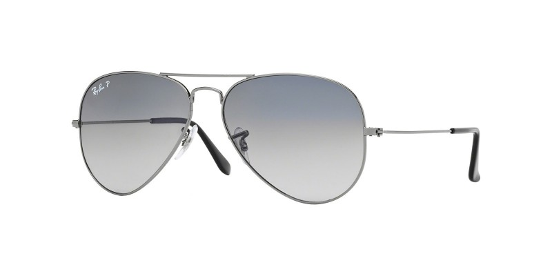 AVIATOR GRADIENT RB3025 004/78 POLARIZED
