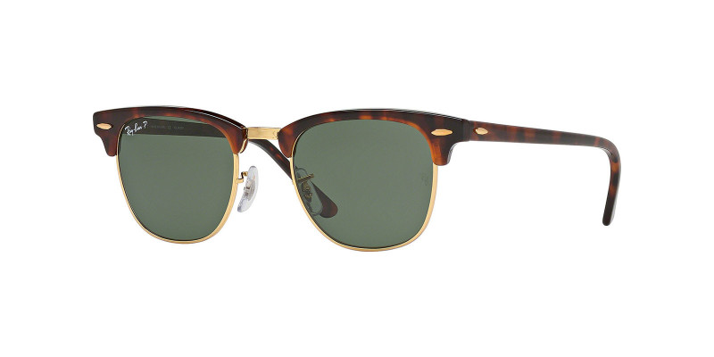 Ray- Ban CLUBMASTER RB3016 990/58 POLARIZED