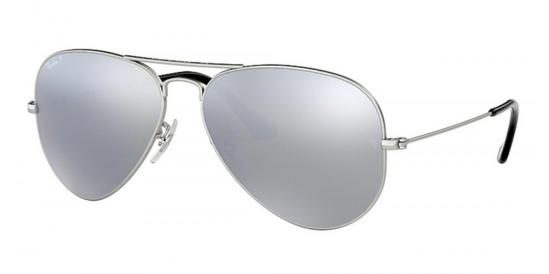 RB3025 AVIATOR LARGE METAL 019/W3 POLARIZED