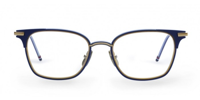 THOM BROWNE TB107 NVY/GLD optical