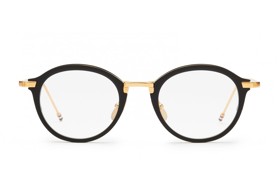 THOM BROWNE TB110 BLK/GLD optical