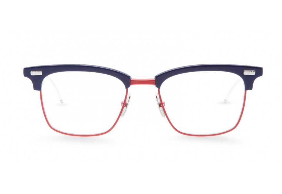 THOM BROWNE TB 711 NVY/RED/WHT optical