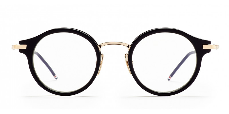 THOM BROWNE TB 807 BLK/GLD optical