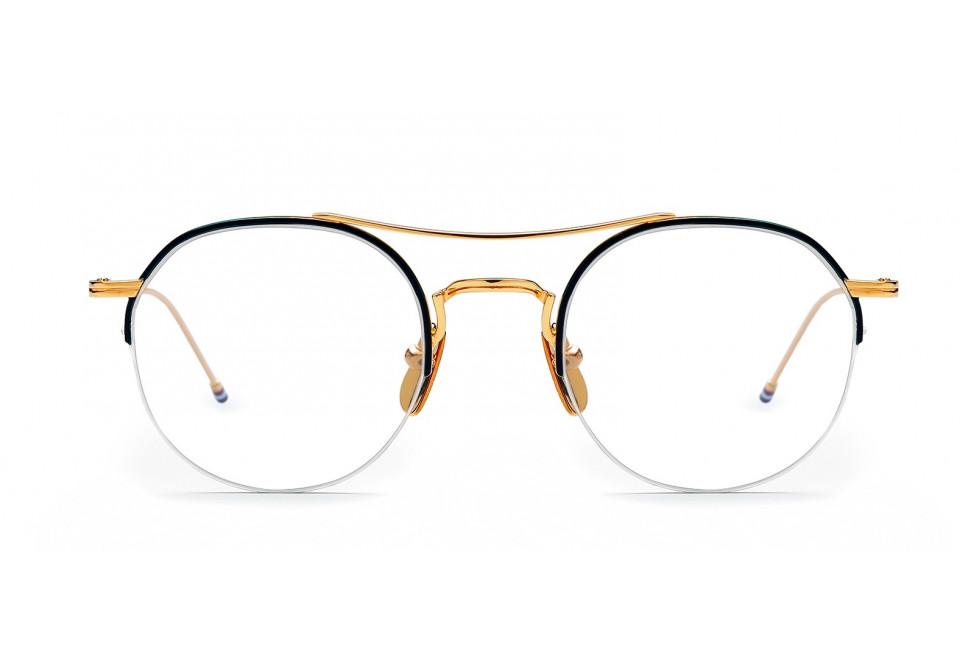 THOM BROWNE TB 903 GLD/NVY optical
