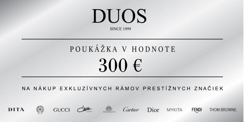 Darčeková poukázka 300€